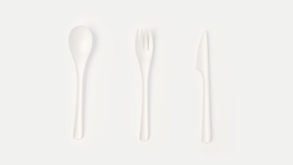 Bioplastic Cutlery- AntonioDeMarco - Studio